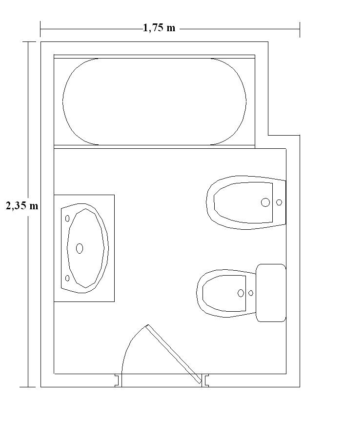 Instalacion Bidet Baño:plano-bano1 (18K)
